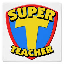 Super teacher logo